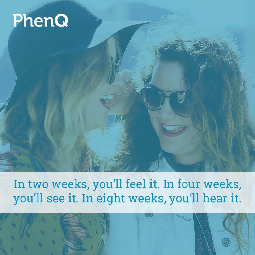 Weight Loss Quotes - In two weeks, you'll feel it. In four weeks, you'll see it. In eight weeks, you'll hear it.