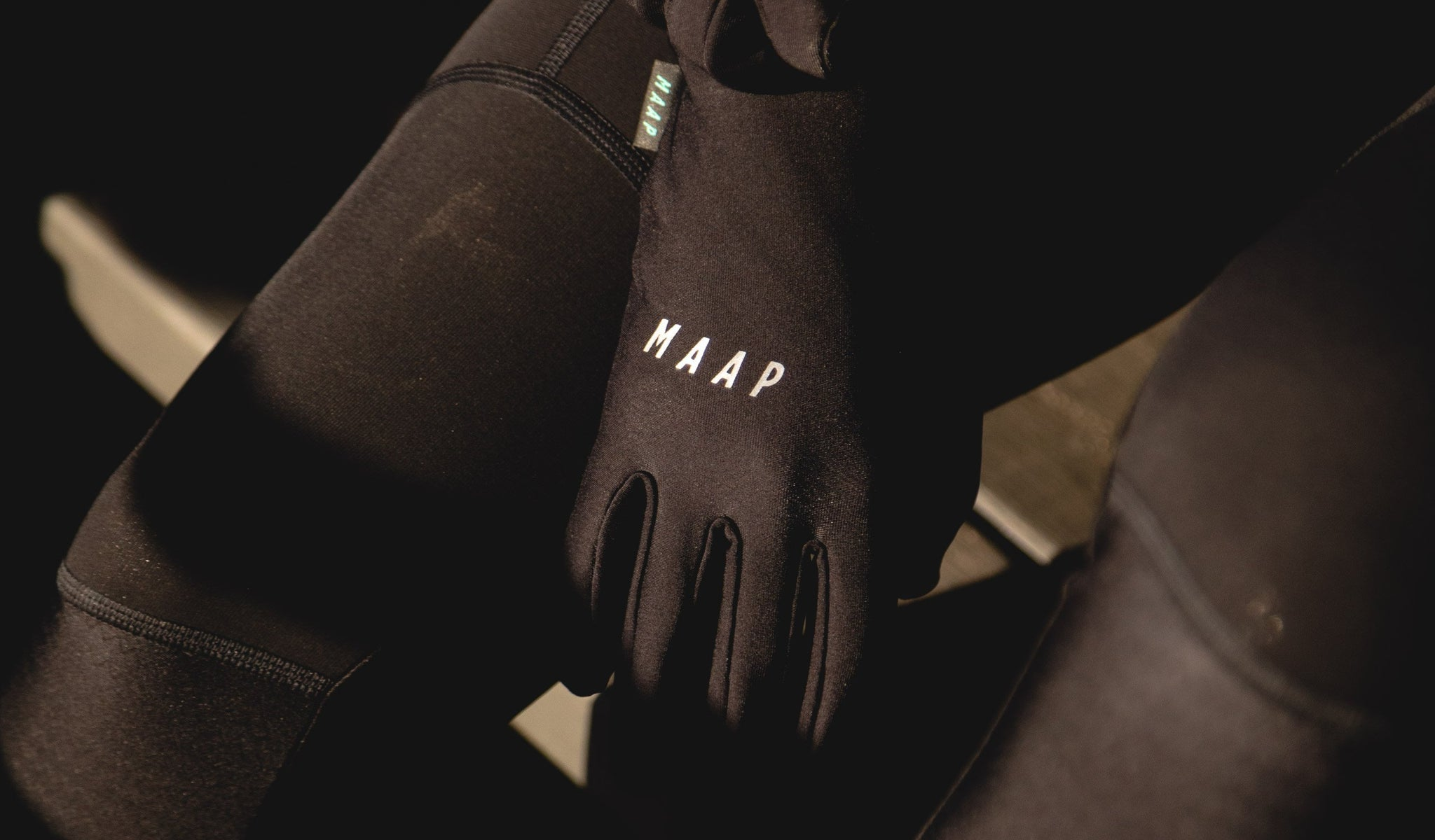 MAAP Base Gloves are made for mid-season cycling in colder temperatures.