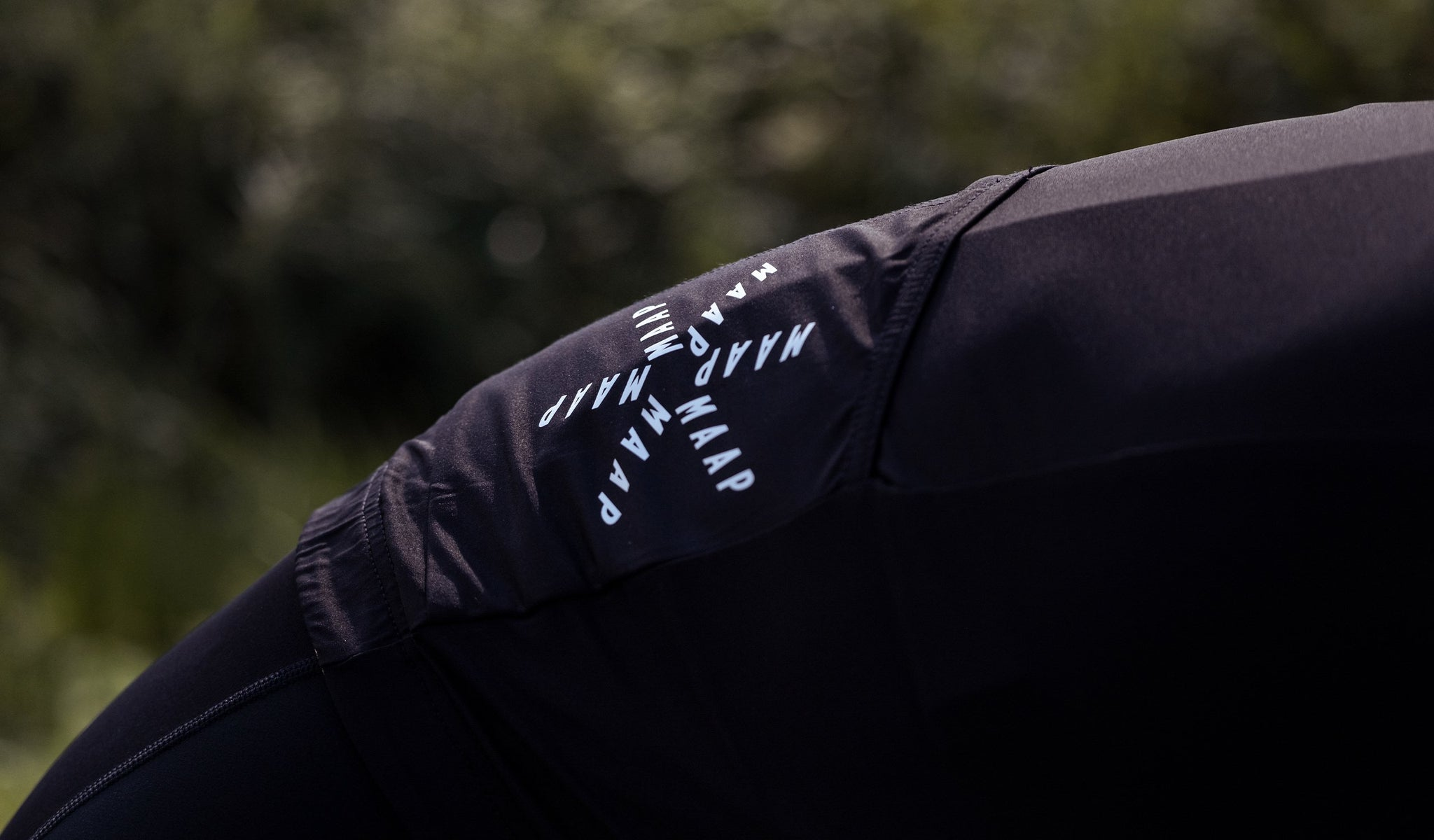 MAAP Training Short Sleeve Cycling Jersey in Black for everyday riding.