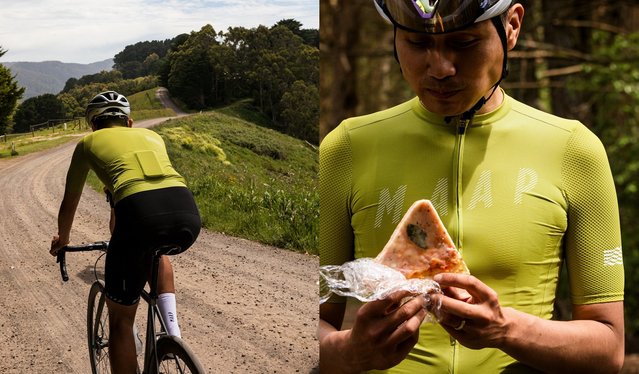 MAAP Echo Pro Base Jersey in Fern Green for cycling in warm weather conditions.
