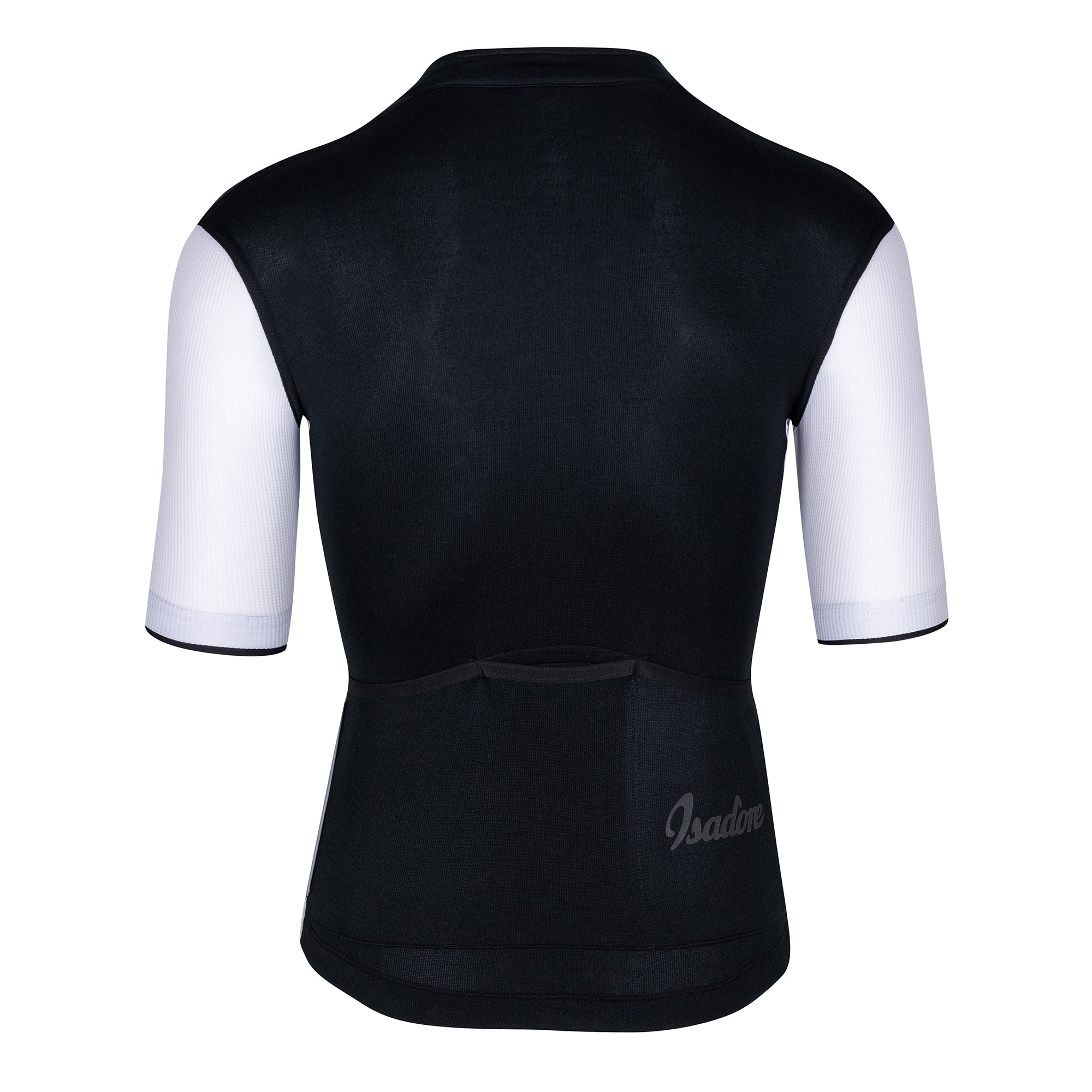 Signature Cycling Jersey - Anthracite Black/White