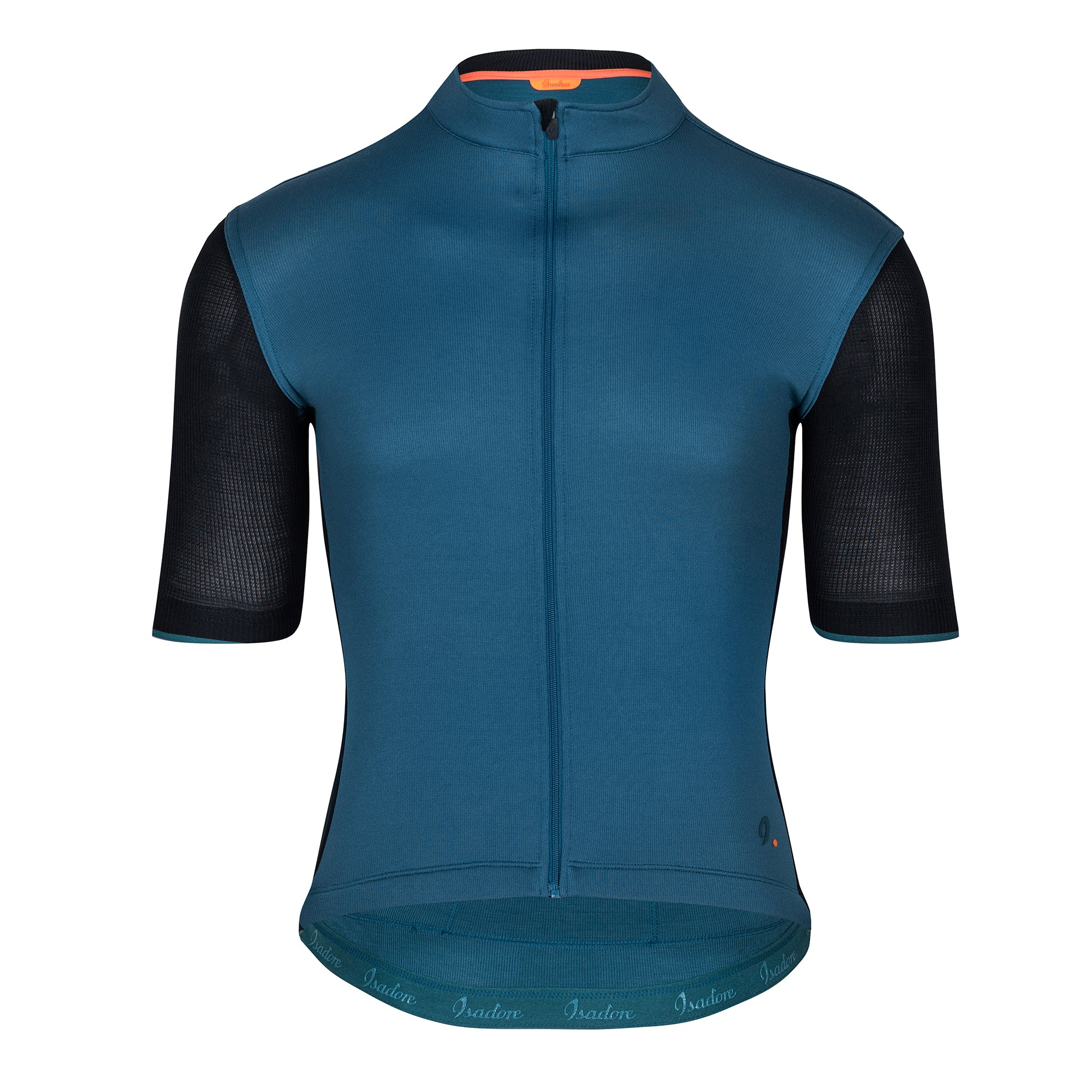 Signature Cycling Jersey - Atlantic Blue/Black