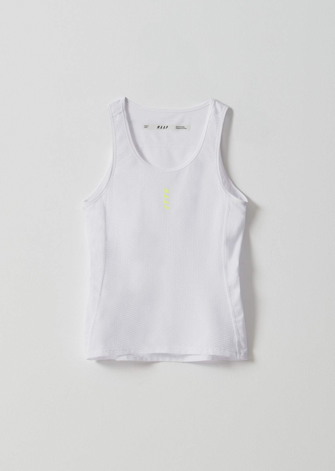 Women's Team Base Layer - White