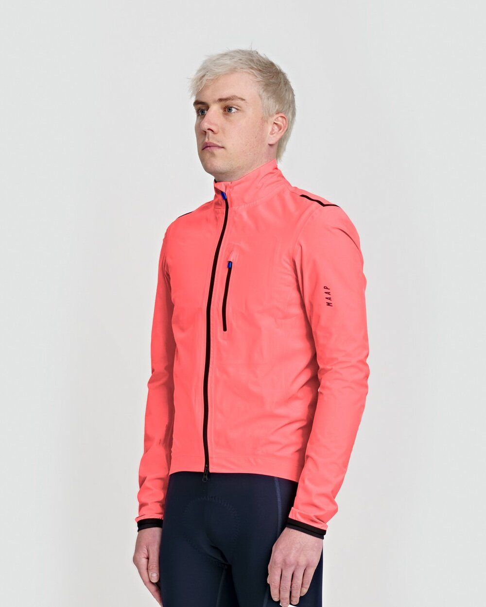 Ascend Pro Rain Jacket - Light Coral Cycling Jacket MAAP