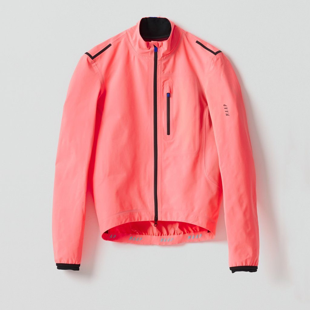 Ascend Pro Rain Jacket - Light Coral Cycling Jacket MAAP XS