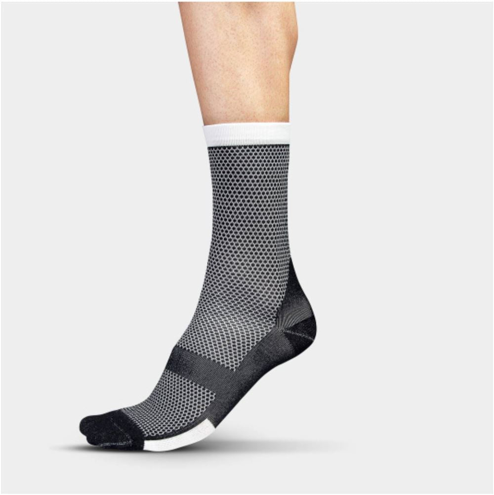 Climber's Socks - Black Cycling Socks Isadore S/M (Shoe Size EU 38 - 42)