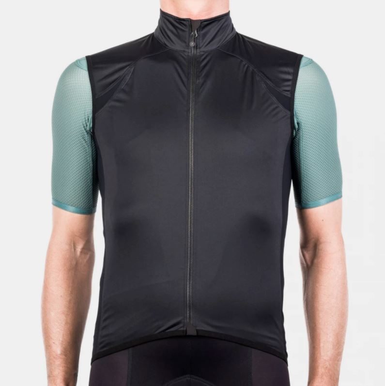 Echelon Wind Vest - Black Cycling Vest Isadore XS