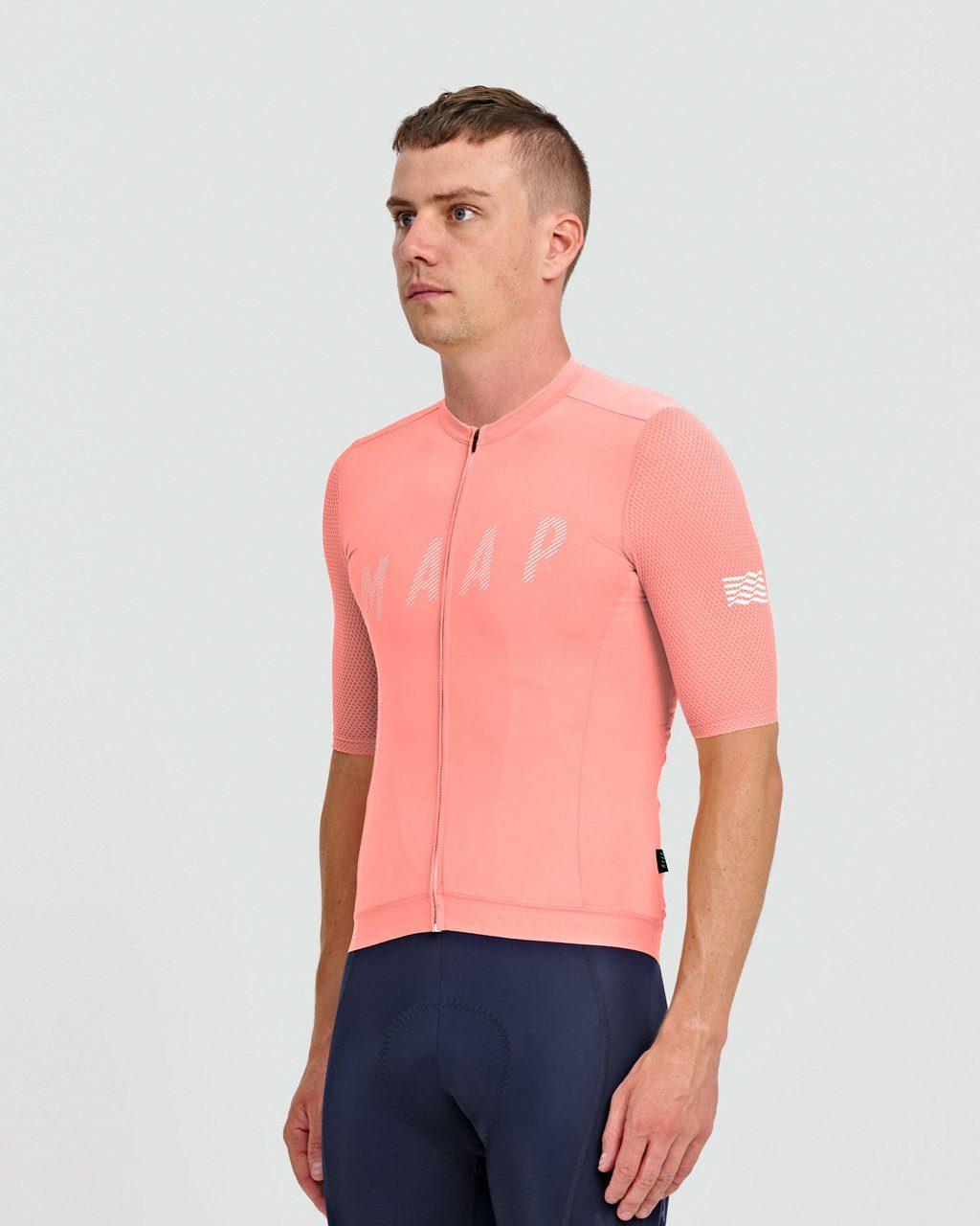 Echo Pro Base Jersey - Light Coral Cycling Jersey MAAP
