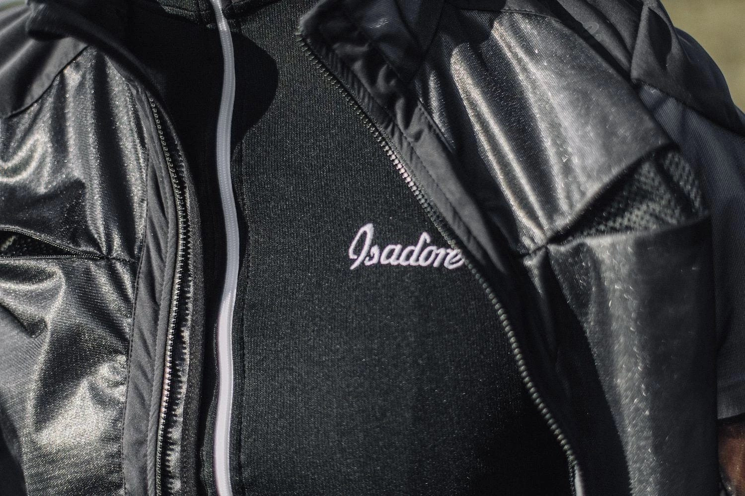 Essential Cycling Jacket - Black Cycling Jacket Isadore