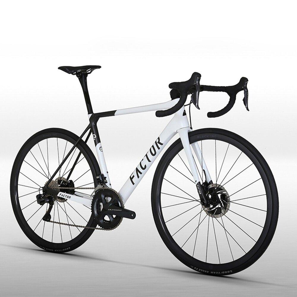 Factor O2 - Pearl White Road Bicycle FACTOR