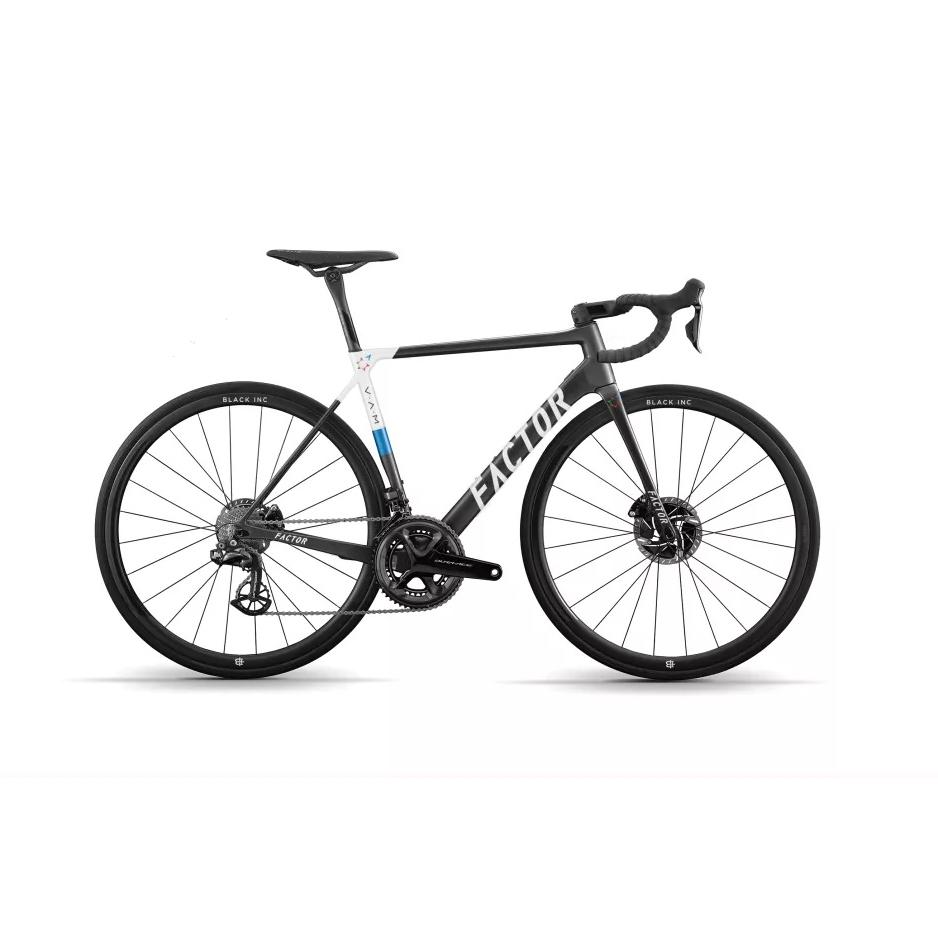 "Factor O2 V.A.M. - Israel Startup Nation Road Bicycle FACTOR SRAM Force ETAP AXS 49 (Recommended rider height 5'0"" - 5'3"")"