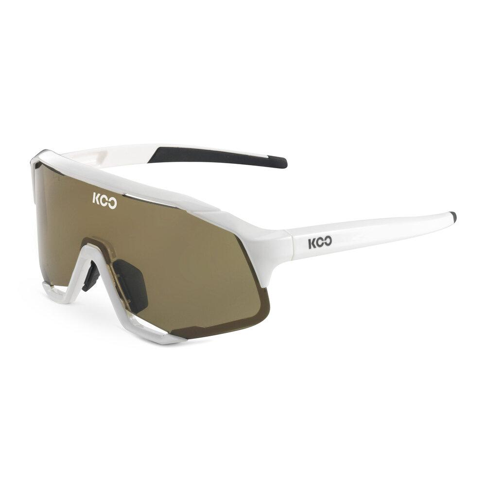 Koo Demos Sunglasses - White/Lightbrown Sunglasses KOO