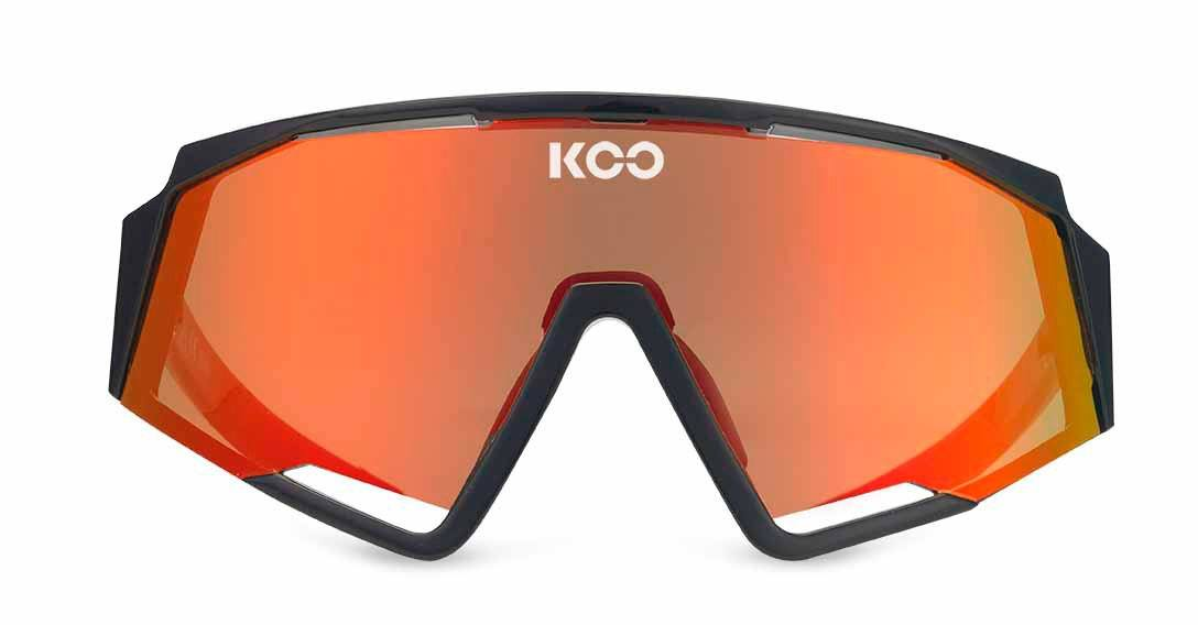 Koo Spectro Sunglasses - Black/Red Sunglasses KOO