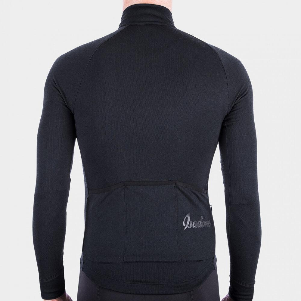 Long Sleeve Cycling Jersey - Anthracite Cycling Jersey Isadore