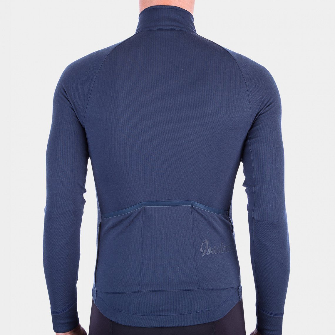 Long Sleeve Cycling Jersey - Indigo Blue Cycling Jersey Isadore