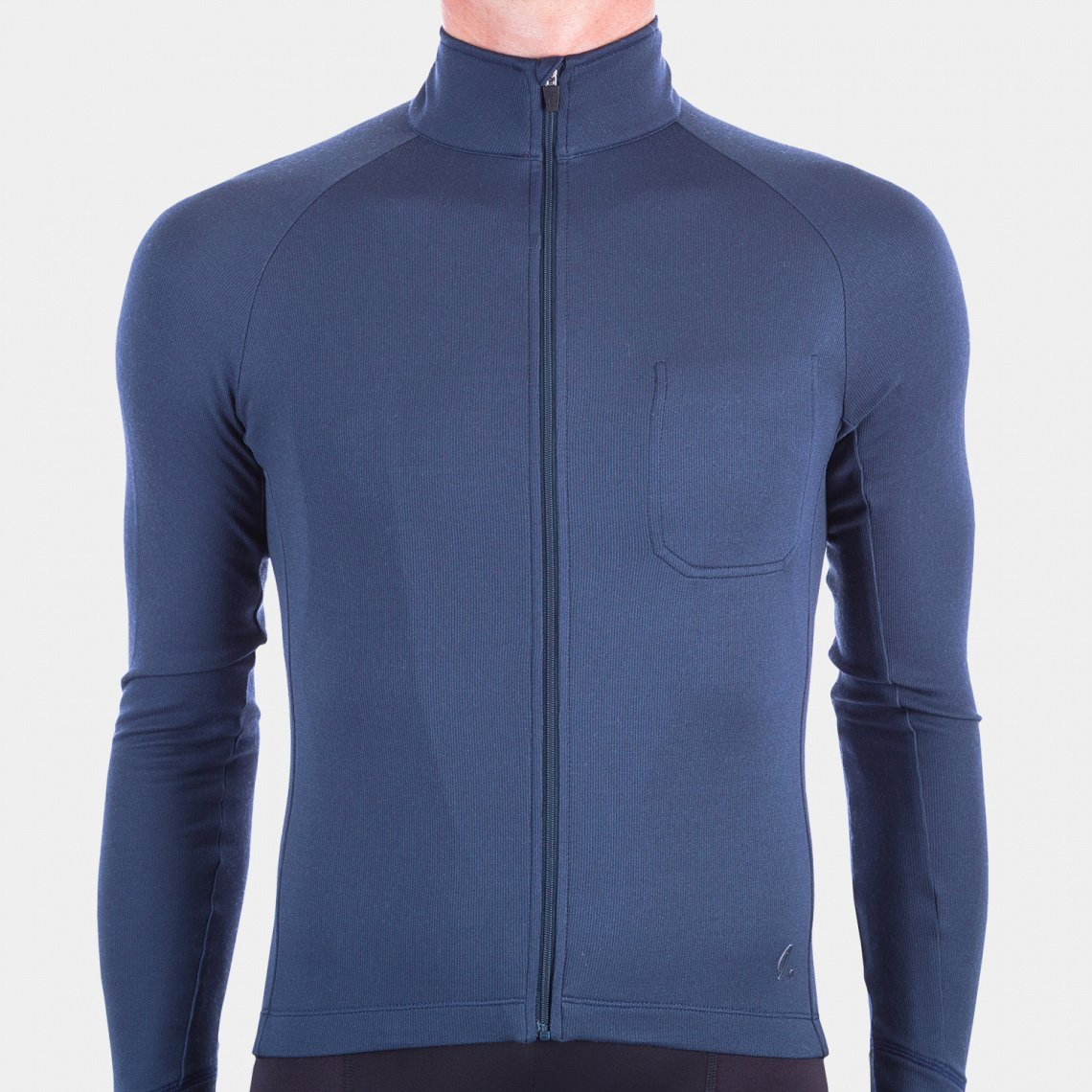 Long Sleeve Cycling Jersey - Indigo Blue Cycling Jersey Isadore XS