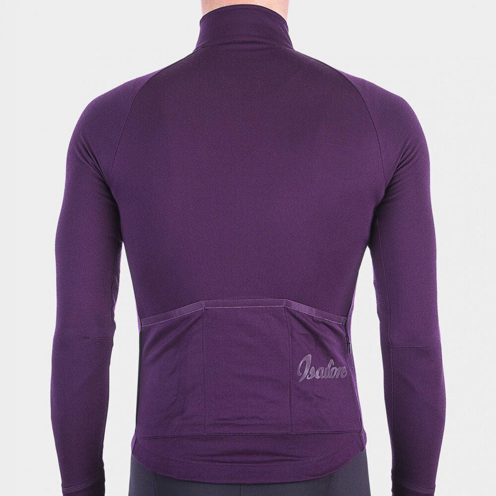 Long Sleeve Cycling Jersey - Potent Purple Cycling Jersey Isadore