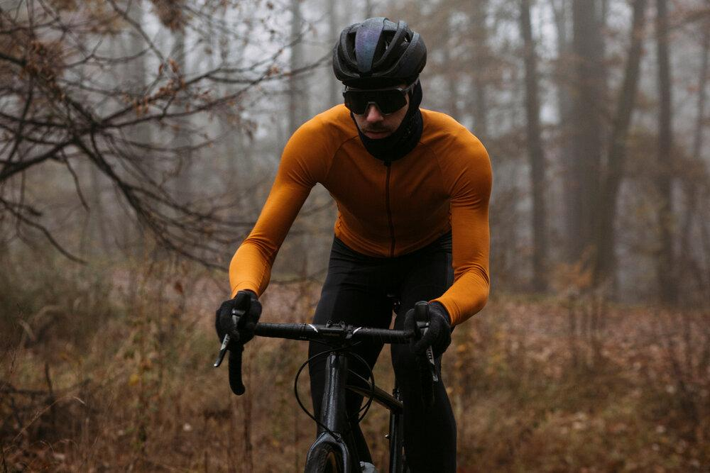 Long Sleeve Jersey - Post Bellum NPO Golden Oak Limited Edition Cycling Jersey Isadore
