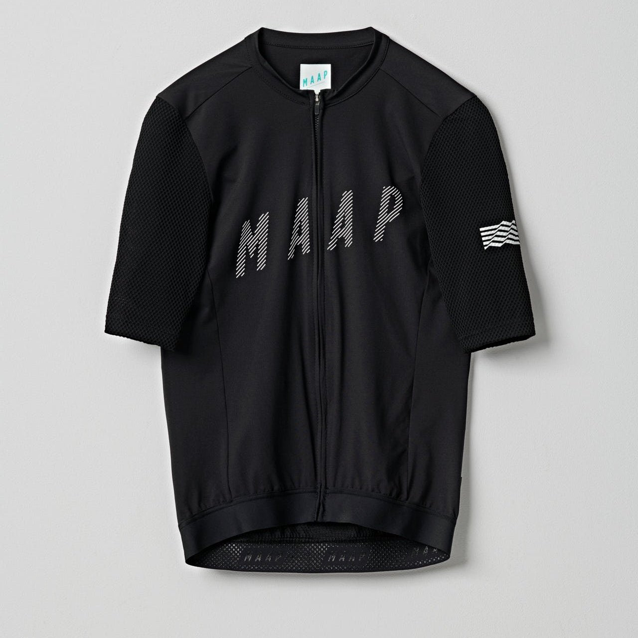 MAAP Echo Pro Base Jersey - Black Cycling Jersey MAAP XS