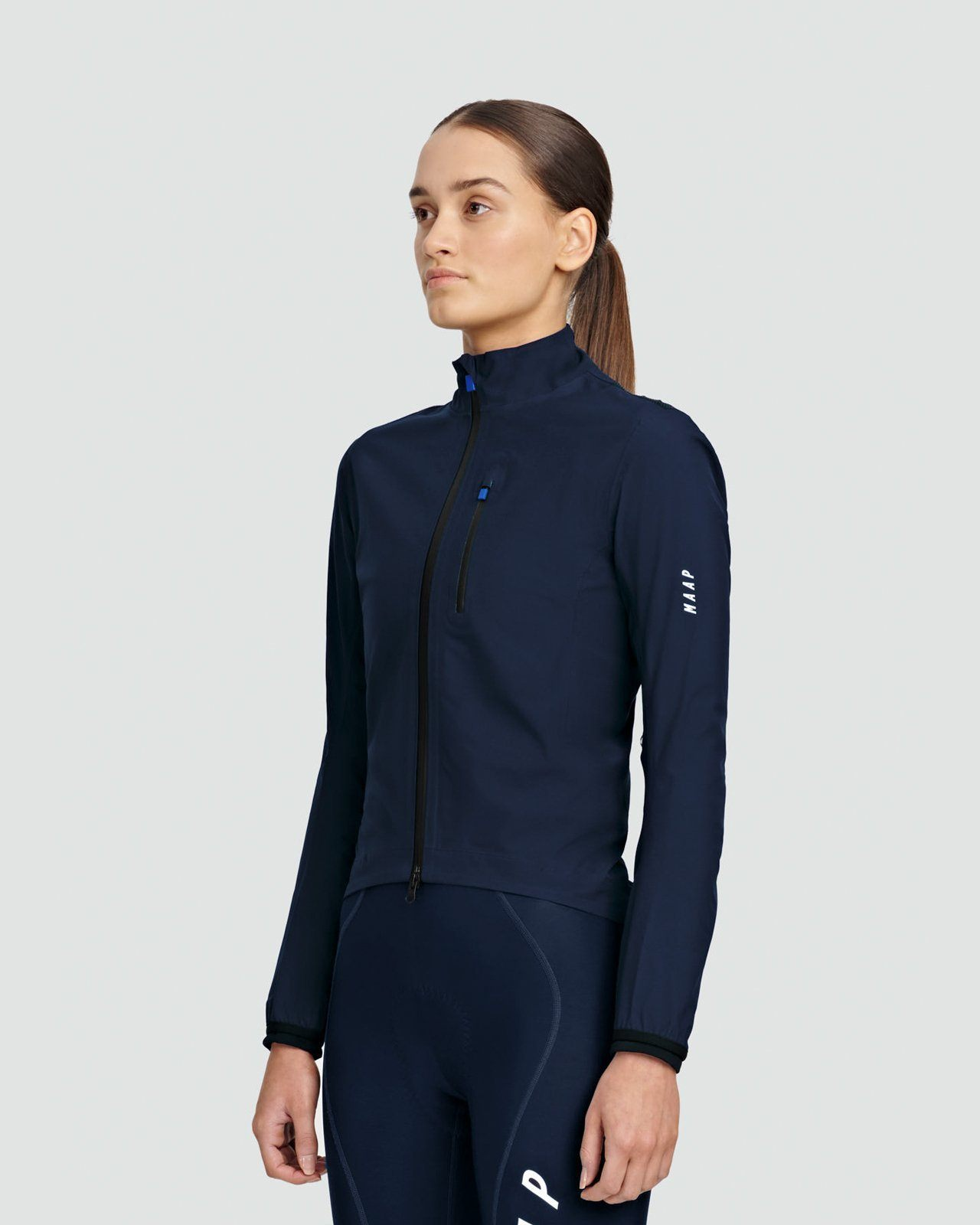 MAAP Women's Ascend Pro Rain Jacket - Navy Cycling Jacket MAAP