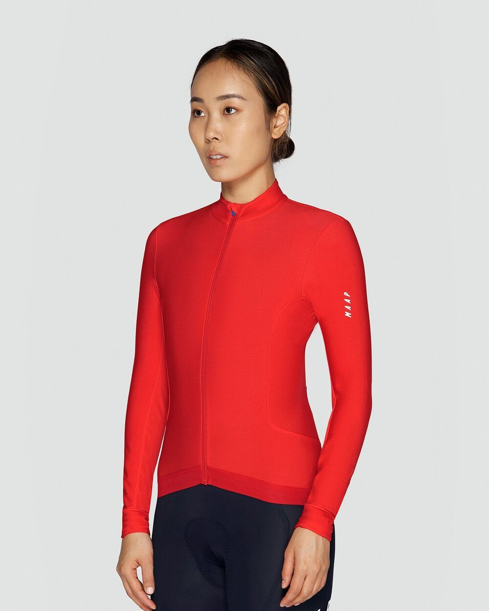 MAAP Women's Force Pro Long Sleeve Jersey - Chilli Cycling Jersey MAAP
