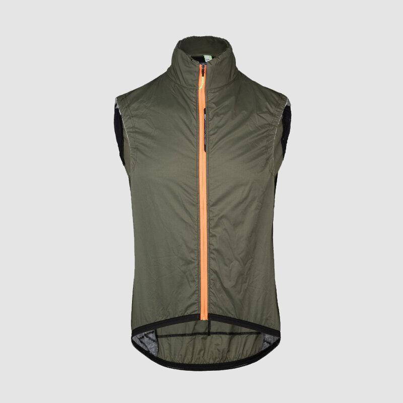 Q36.5 Adventure Insulation Vest - Olive Green Cycling Vest Q36.5 XS