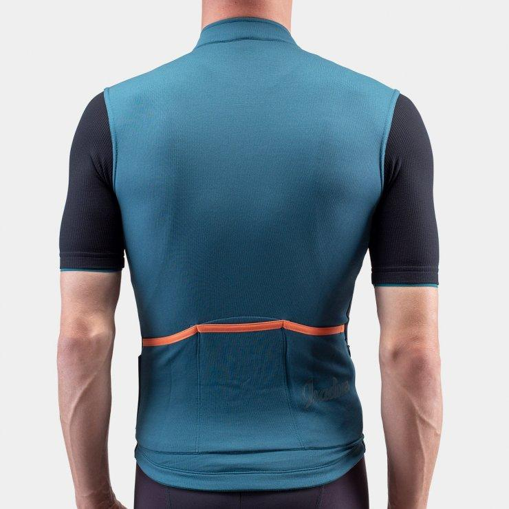 Signature Cycling Jersey - Atlantic Blue/Black Cycling Jersey Isadore