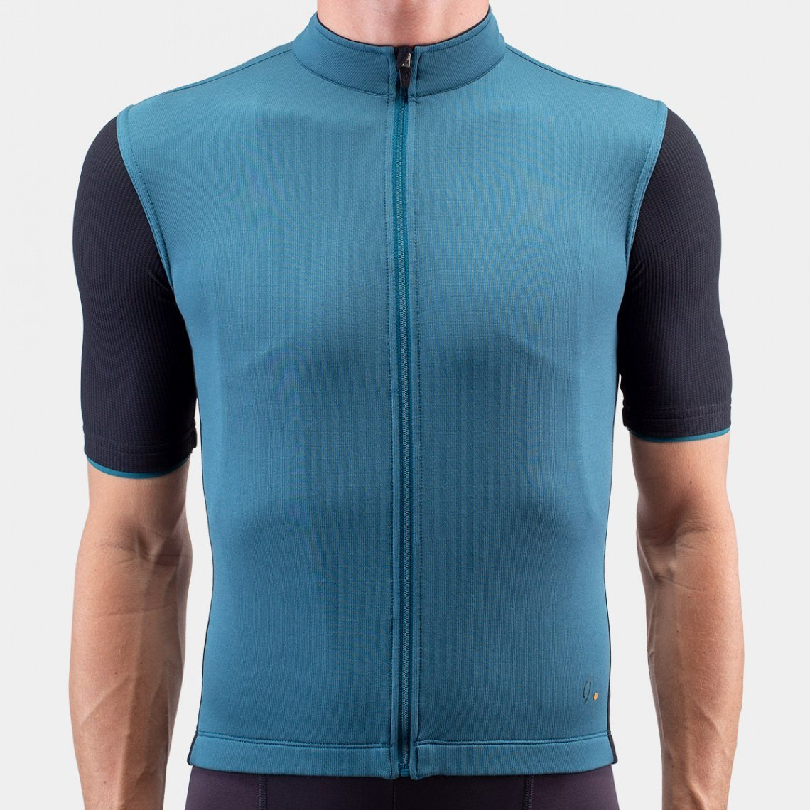 Signature Cycling Jersey - Atlantic Blue/Black Cycling Jersey Isadore XS