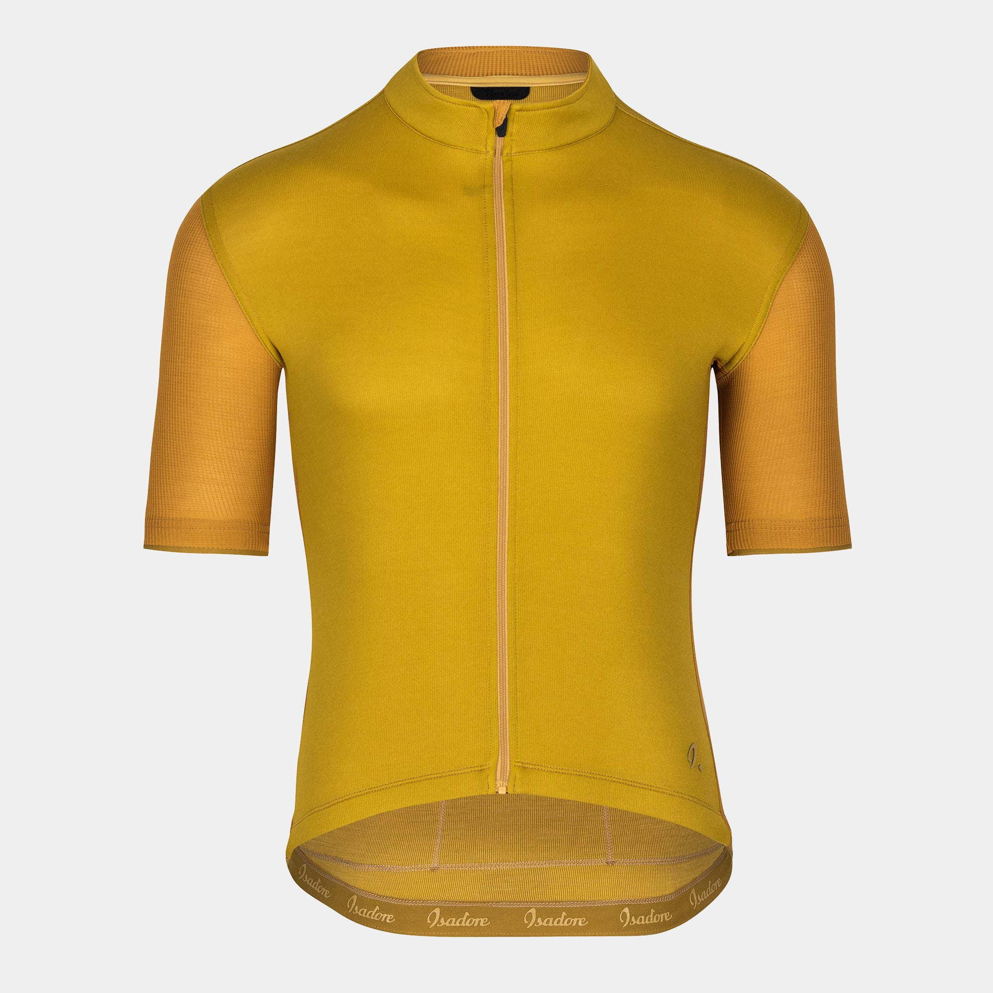 Signature Cycling Jersey - Olive Oil/Chai Tea