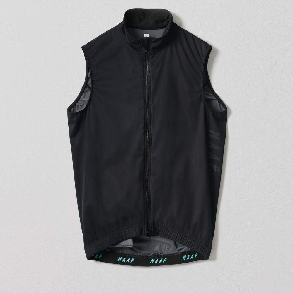 Unite Team Vest - Black Cycling Vest MAAP XS