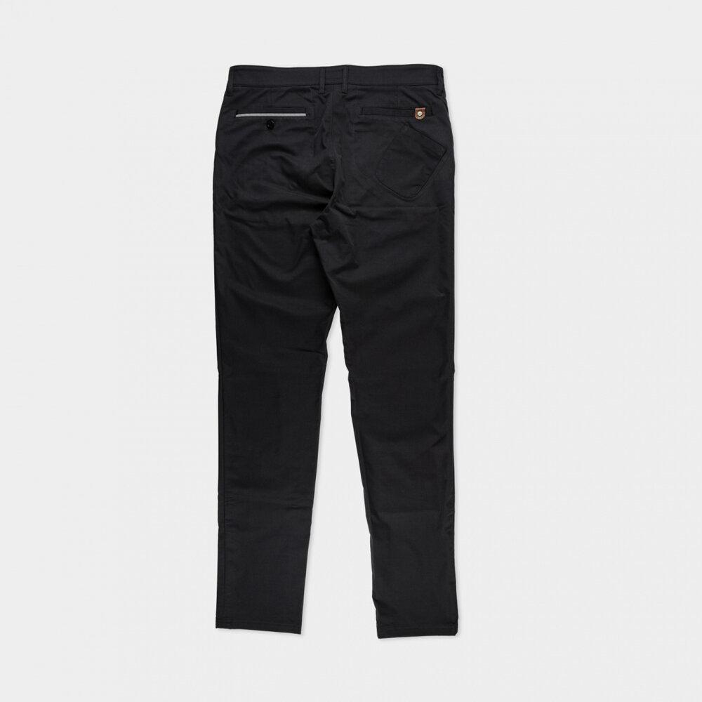 Urban Chinos Black Commuter Pants Isadore