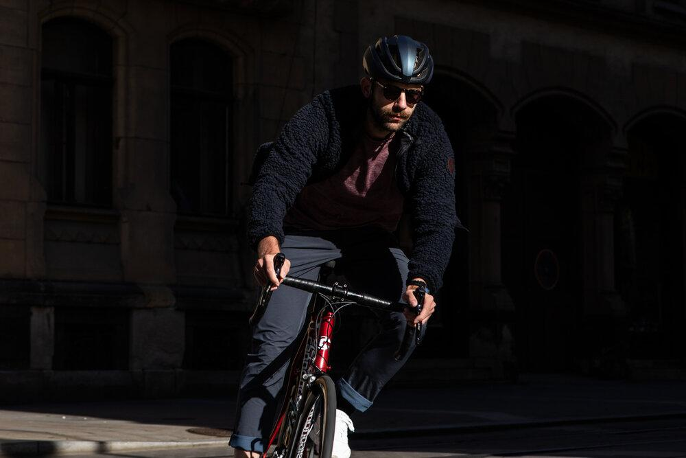 Urban Cycling Reversible Jacket Commuter Jacket Isadore