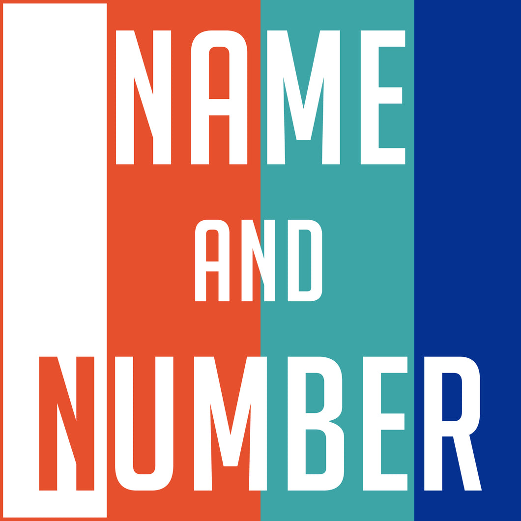 Name and Number Print