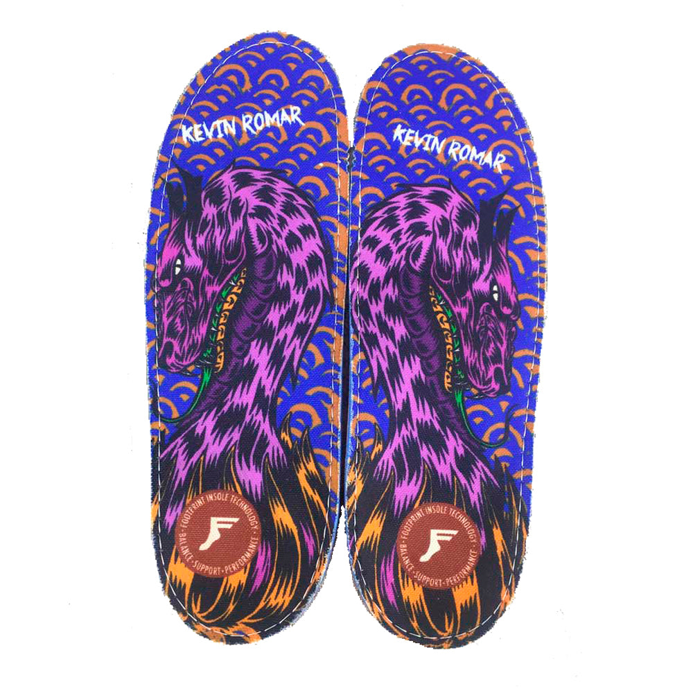 Footprint - Orthotic Insoles - Romar Dragon (Size 12/12.5 US)