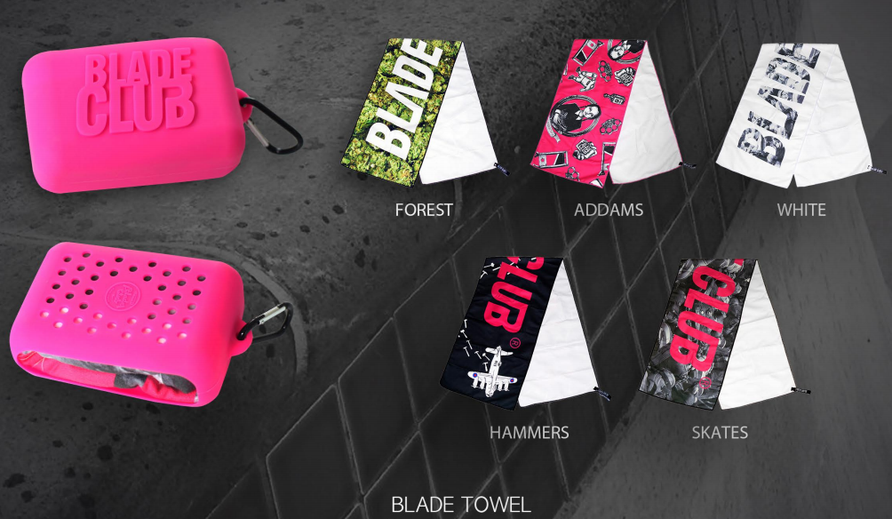 Blade Club - Towel - Forest