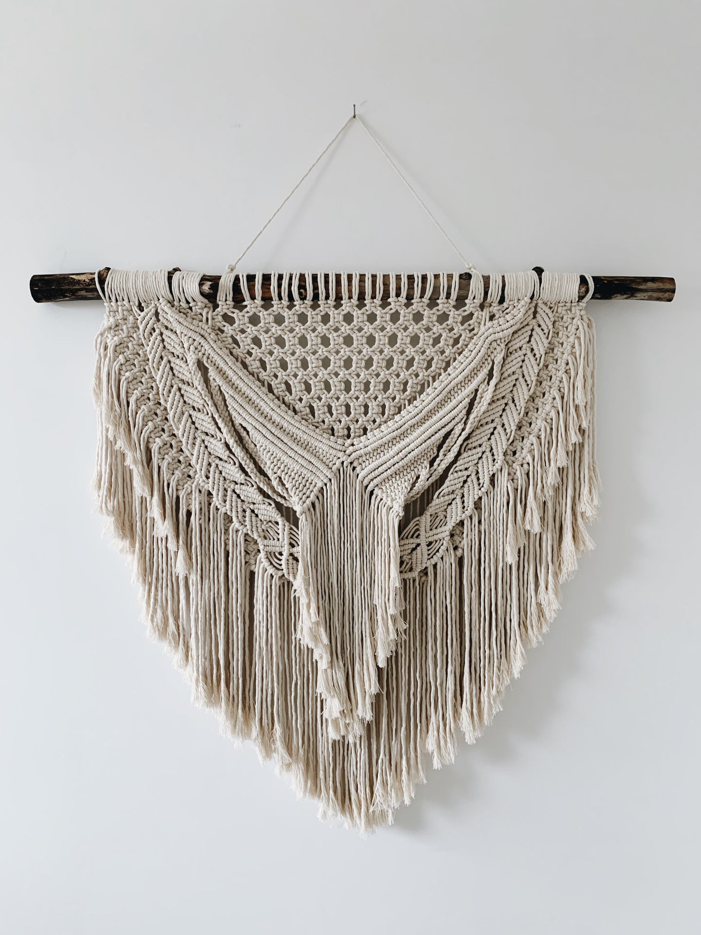 Boho Layered Macrame - Large Wall Hanging