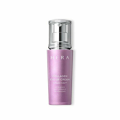 HERA Collagen Eye Up Cream (25ml) Features Eye cream with 51.7% collagen with a skin lifting effect for sharp looking. How to use - Take an adequate amount and apply all over the face. - Use: Pump once (0.1 -0.2 ml) Specification - Brand : HERA - Country of origin : Republic of Korea - Target Area : Face - Skin Type : All Skin Types - Condition : 100% Brand-new with original box - Capacity: 25ml