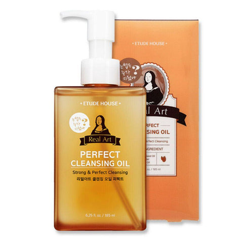 [ETUDE HOUSE] Real Art Cleansing Oil Perfect (185ml)