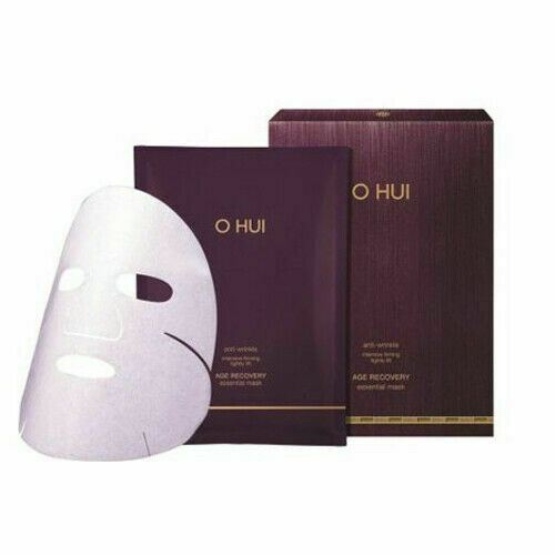 O HUI Age Recovery Essential Mask anti-aging intensive care sheet 8pcs