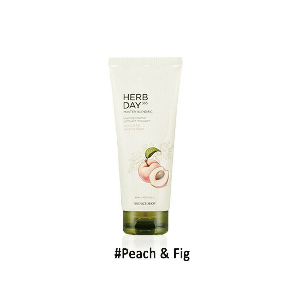 THE FACE SHOP Herb Day 365 Master Blending Foaming Cleanser 170ml Renewal