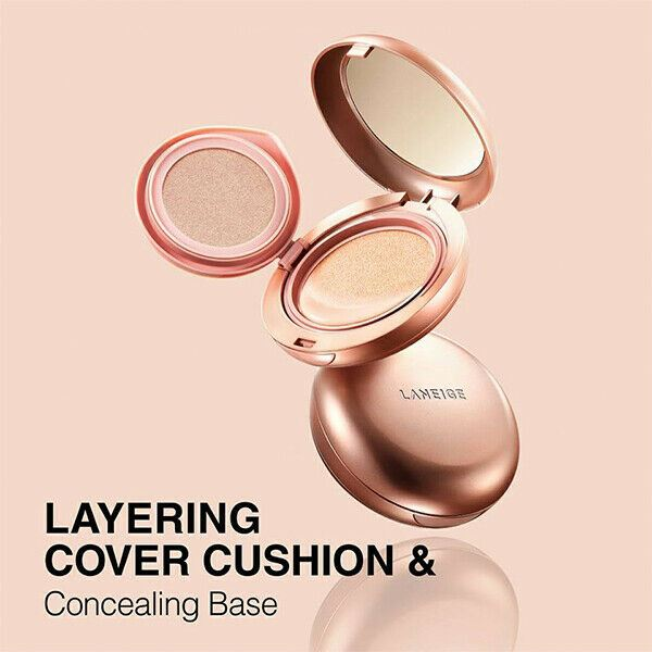 LANEIGE Layering Cover Cushion 14 g + 2.5g SPF34 PA++ - 4 colors / ONLY Compact