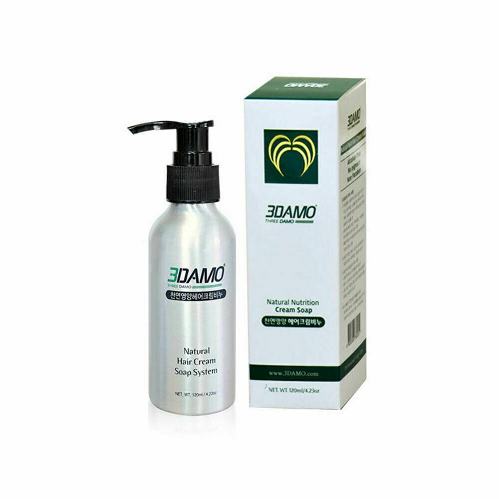 3DAMO Natural Nutrition Hair Cream Soap Scalp cleanliness and hair root strength