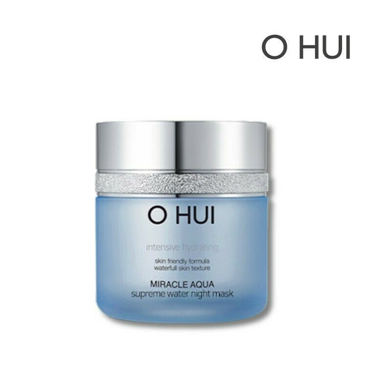 O HUI Miracle Aqua Supreme Water Night Mask 100ml