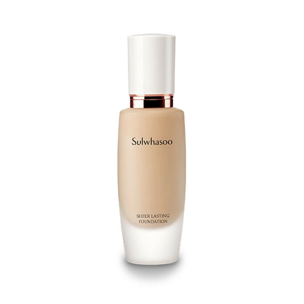 Sulwhasoo Sheer Lasting Foundation 30ml 3 Shade