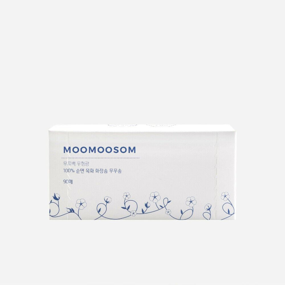[salTherapy] Unbleached Cotton Pads for Face 90 Sheets