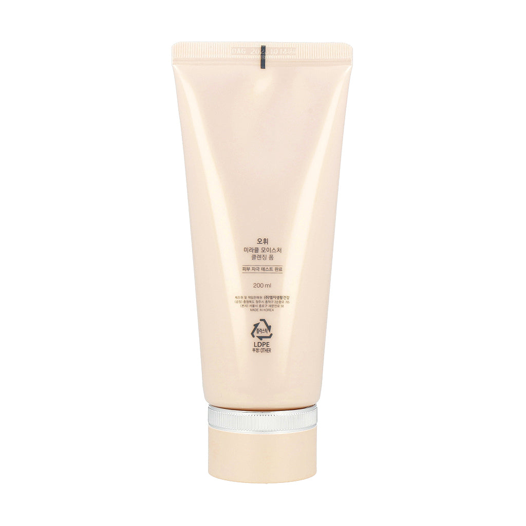 O HUI Miracle Moisture Cleansing Foam 200ml Renovación