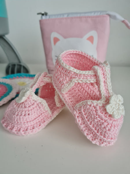 Sandal baby girl shoe booties, various colours available and sizes