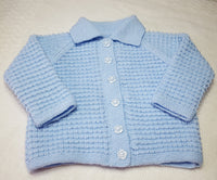 Cardigan Blue Collar for age 2-3 years