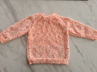 Knit Jumper, Multi, Age 0-3 Months