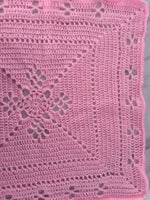 Blanket Pink, Size Small, Handmade